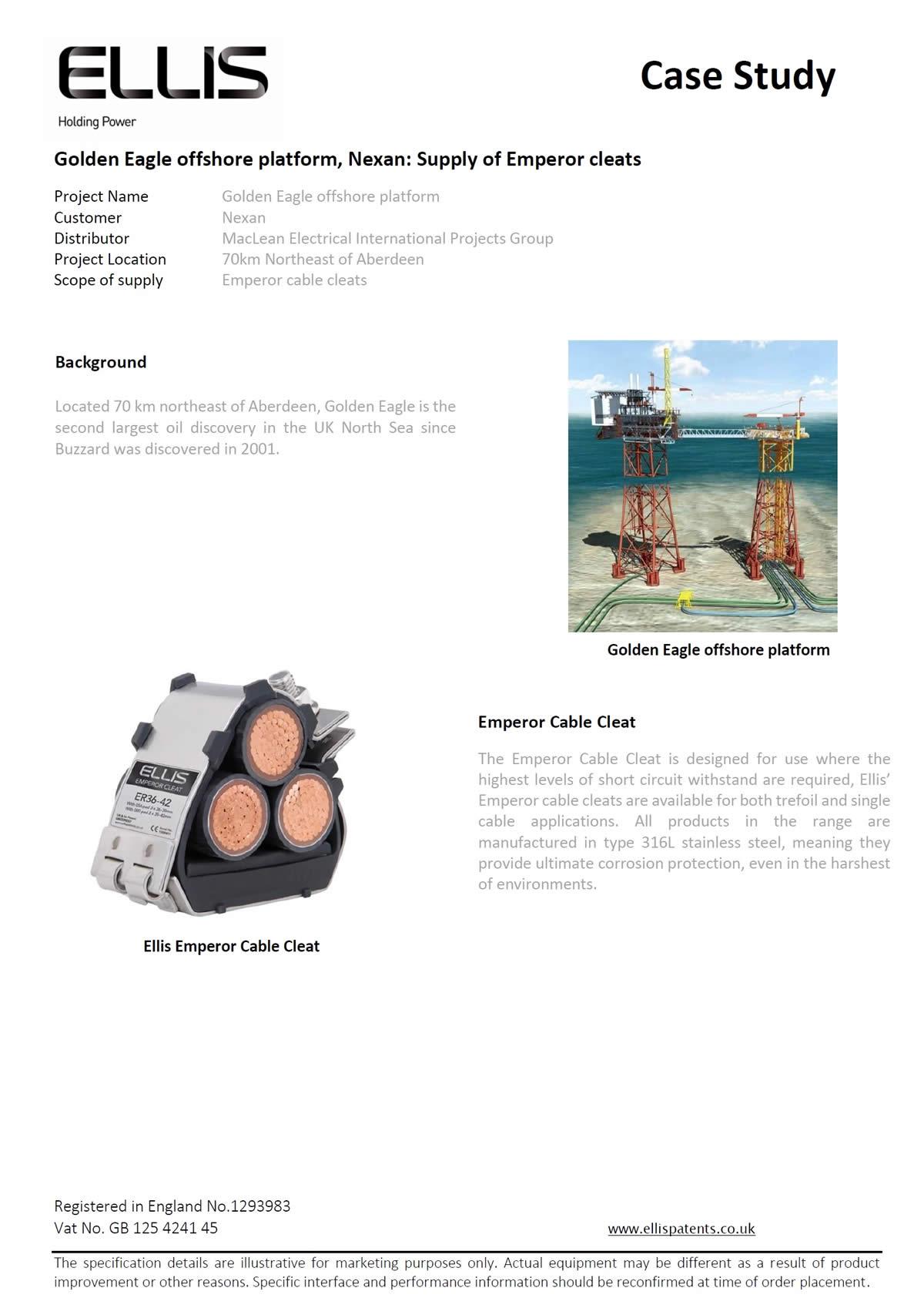 Golden Eagle Offshore Platform